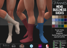 [VANNIES] Mens Business Socks