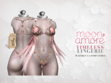 :Moon Amore: Timeless Lingerie / PINK