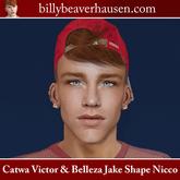 Catwa Victor & Belleza Jake Shape Nicco