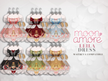 :Moon Amore: Leila Dress (Onyx)
