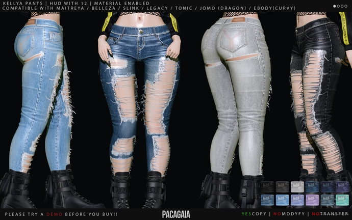 Pacagaia - Kellya Pants -ADD-