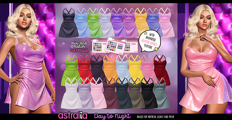 Astralia - Day to Night Dress (Fatpack)