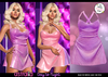 Astralia - Day to Night Dress (Lilac Glitter)