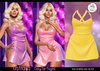 Astralia - Day to Night Dress (Lemon)