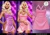 Astralia - Day to Night Dress (Hot Pink)
