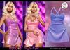 Astralia - Day to Night Dress (Blue Glitter)