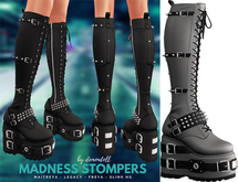Demon Doll - Madness Stompers Light Grey
