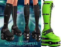 Demon Doll - Madness Stompers Neon Green
