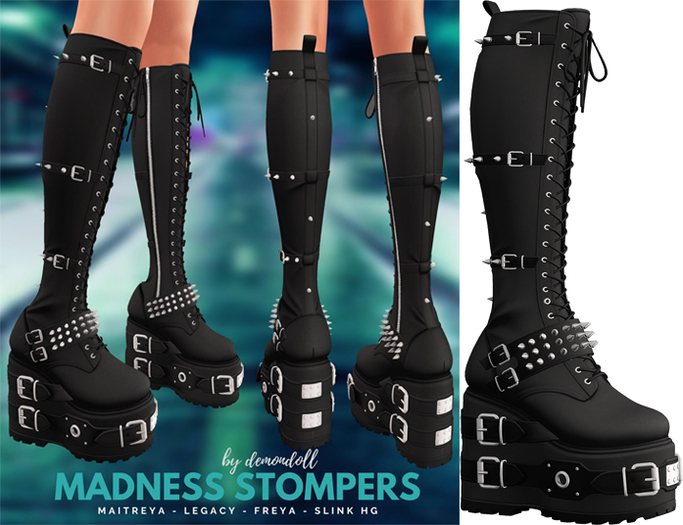 Demon Doll - Madness Stompers Onyx