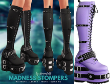Demon Doll - Madness Stompers Purple