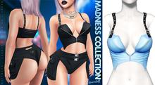 Demon Doll - Suspender Top Baby Blue