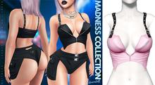 Demon Doll - Suspender Top Baby Pink