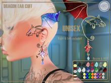 #187# Dragon Ear Cuff