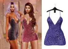 Ec.cloth - Lara Sequin Dress - Cobalt (add it)