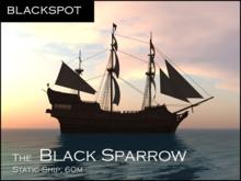 BLACKSPOT - The Black Sparrow Pirate Ship