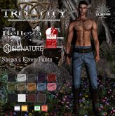 TCElven - Shenn's Elven Pants (Belleza Jake / Signature Gianni / Slink Male)