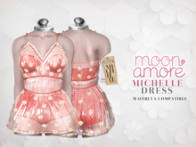 :Moon Amore: Michelle Dress /  ROSE