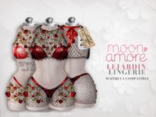 :Moon Amore: Le Jardin Lingerie / rouge