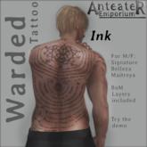 Anteater Emporium - Warded Tattoo (Ink)
