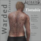 Anteater Emporium - Warded Tattoo (Tintable)