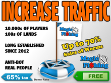 Magic Fishing Buoy - Increase your land traffic | 65% tax