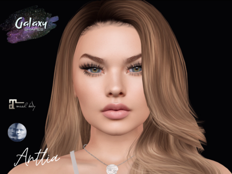 Antlia Shape for Genus Strong Gift 001 by Galaxy Shapes