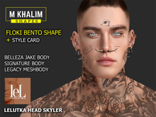 FLOKI BENTO MALE SHAPE FOR LELUTKA HEAD SKYLER - LEGACY BODY - SIGNATURE AND BELLEZA
