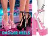 Spoiled - Dagger Heels Barbie Pink