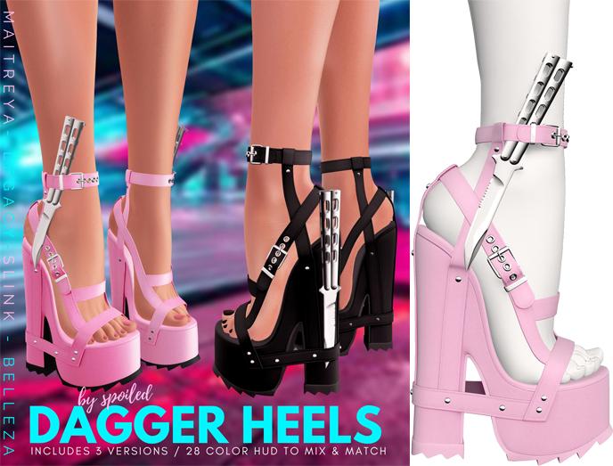 Spoiled - Dagger Heels Polly Pocket Pink