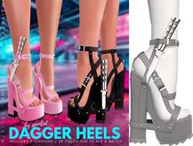 Spoiled - Dagger Heels Grey