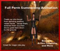 Full Perm Summoning Wand/Casting Animation