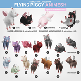 SEmotion Libellune Flying Piggy Animesh #15