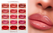 UPDATED ! LUXREBEL ''CELEBRITY SKIN'' Lipsticks (GENUS) TAN