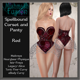 ~*MF*~ Spellbound Corset - Red