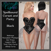 ~*MF*~ Spellbound Corset - Black