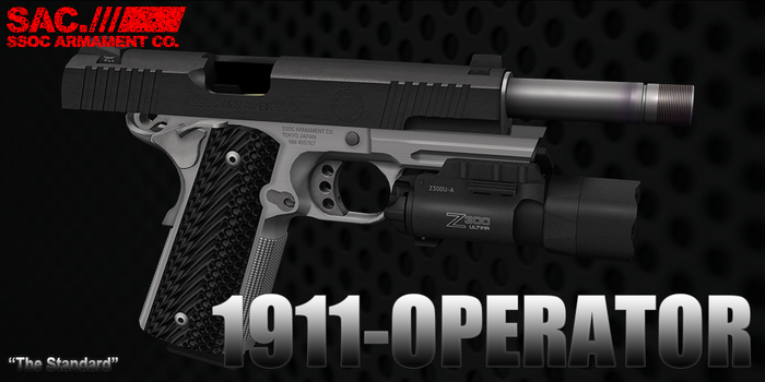 [SAC] 1911 Operator Dual Pistol with Holsters v1.05 Box