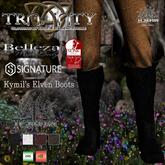 TCElven - Kymil's Elven Boots (Belleza Jake / Signature Gianni / Slink Male)