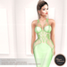 .:FlowerDreams:. Marcellina - light green applier gown