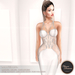 .:FlowerDreams:. Marcellina - white applier gown