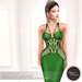 .:FlowerDreams:. Marcellina - green applier gown