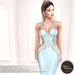 .:FlowerDreams:. Marcellina - light blue applier gown