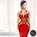 .:FlowerDreams:. Marcellina - red applier gown