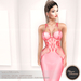 .:FlowerDreams:. Marcellina - pink applier gown