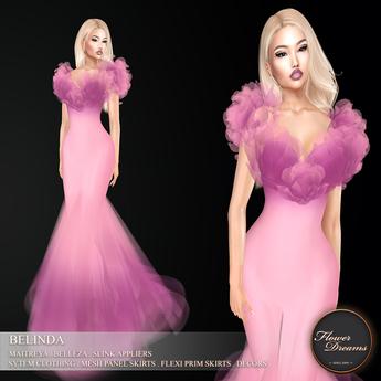 .:FlowerDreams:.Belinda - lilac (appliers included)