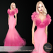 .:FlowerDreams:.Belinda - deep pink (appliers included)