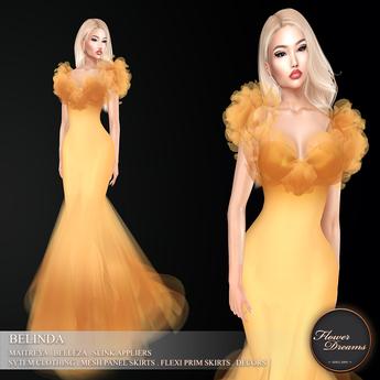 .:FlowerDreams:.Belinda - amber (appliers included)