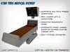 Star Trek Medical Biobed + Diagnostic Display