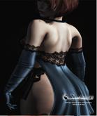 ! Black Swan ! Sweet Sin - dress & gloves / ice blue