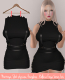DIVINE <3 ~ Lace up dress with harness