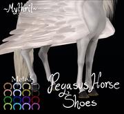 ~Mythril~ Pegasus Horse Shoes